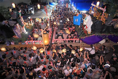 角館祭りのやま行事の写真