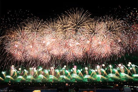 全国花火競技大会「大曲の花火」の写真