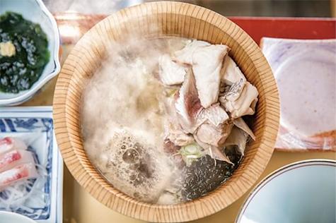 石焼料理の写真